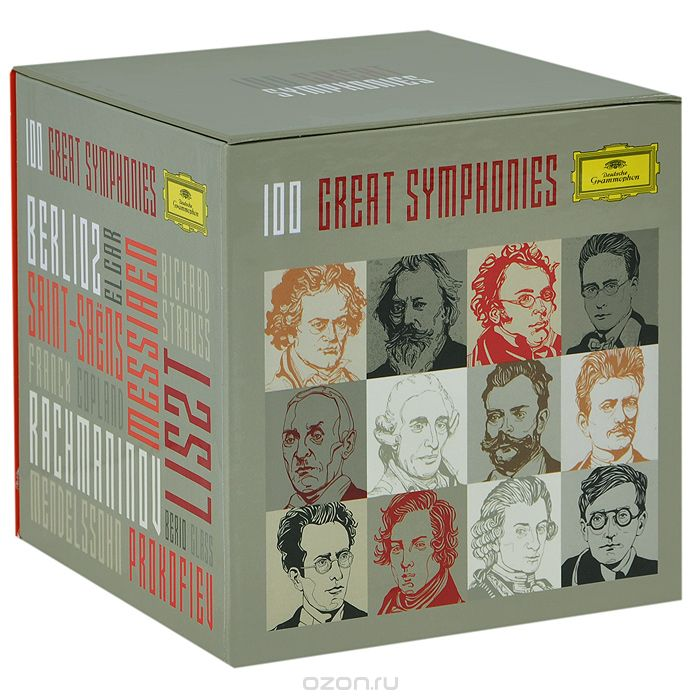 100 Great Symphonies (56 CD)