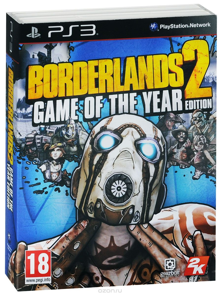 Borderlands 2. Game of the Year Edition (PS3)