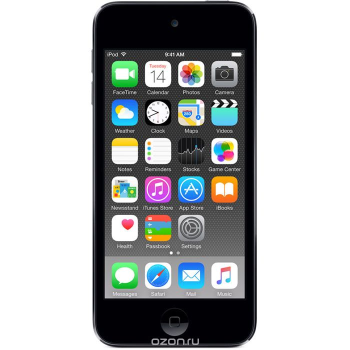 Apple iPod Touch 6G 32GB, Space Grey mp-3 плеер