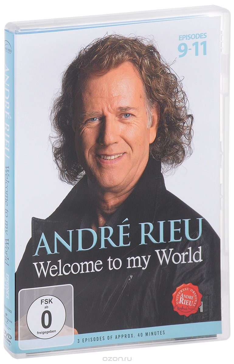 Andre Rieu: Welcome To My Word. Episodes 9-11