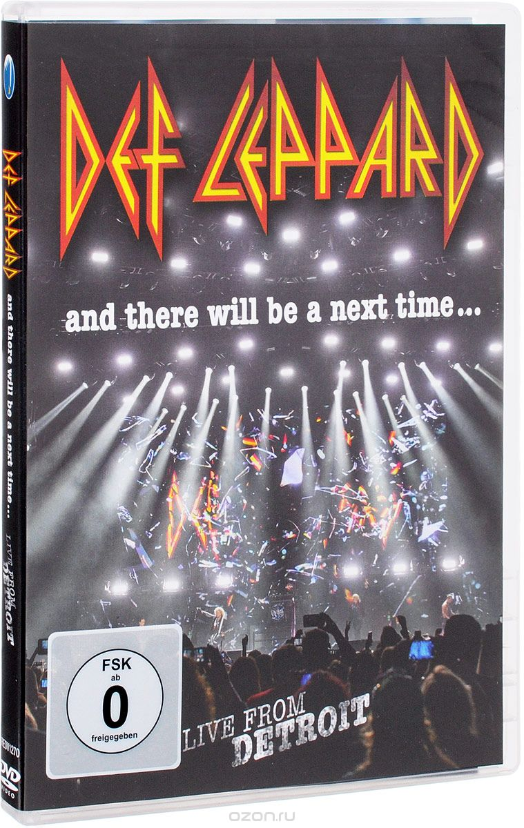 Def Leppard. And There Will Be A Next Time... Live From Detroit